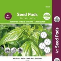 Buzzy® Seedpads Basilicum 4xØ8cm