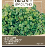 Buzzy® Organic Sprouting Mosterdkers (BIO)