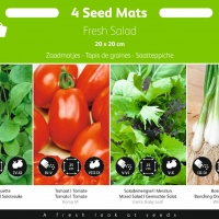 Buzzy® Zaadmatjes Salade 4 matjes (5)