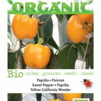 Buzzy® Organic Paprika Yellow California Wonder (BIO)
