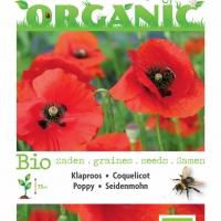 Buzzy® Organic Papaver, Klaproos Rood (BIO)